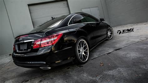 mercedes e550 coupe tuning cars wallpaper 2048x1153