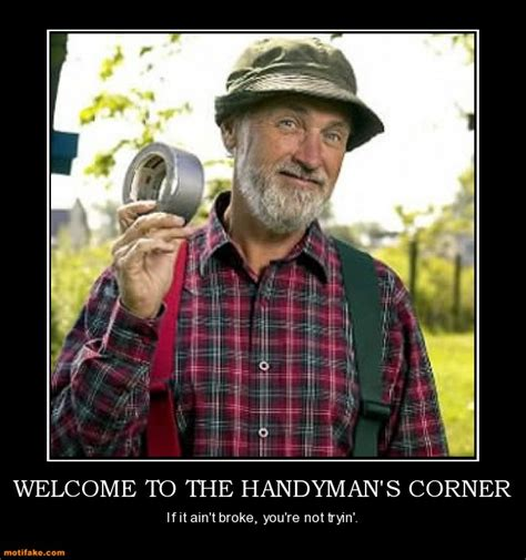 Handyman Meme - red green funny quotes quotesgram