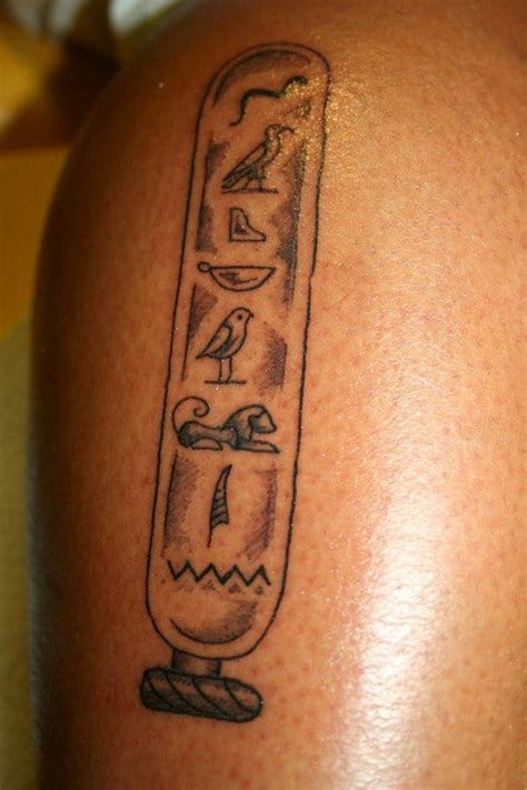 egyptian hieroglyphics tattoos inspired ink tattoodo