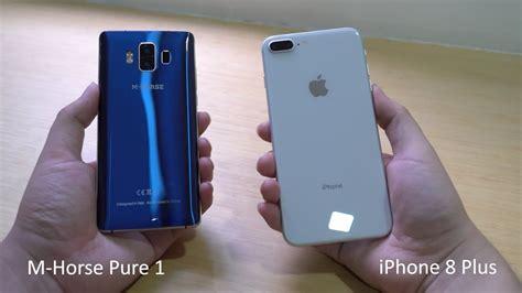 m 1 vs iphone 8 plus