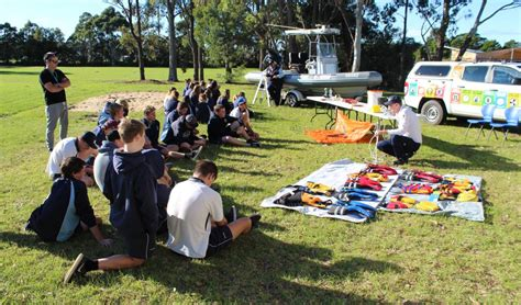boating safety officer nsw eden marine high school marine studies students learn