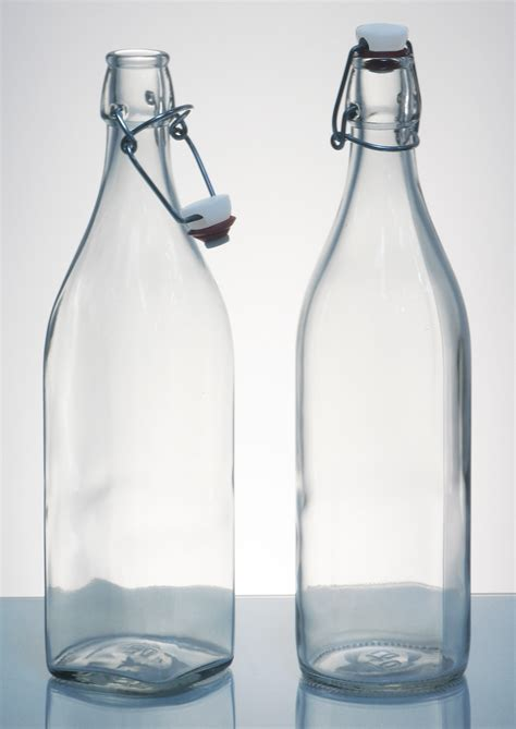 glass flask bottles with swing top antique swing top glass bottles town country event rentals