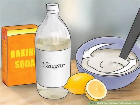 bathroom odor 3 ways to remove bathroom odors wikihow