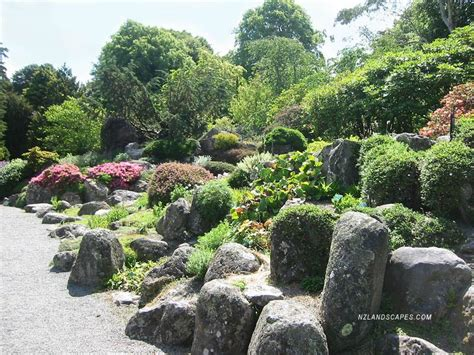 rock garden south nzlandscapes landscape design new zealand nz