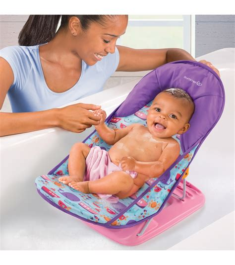 Summer Baby Bather summer infant deluxe baby bather dolphin drive