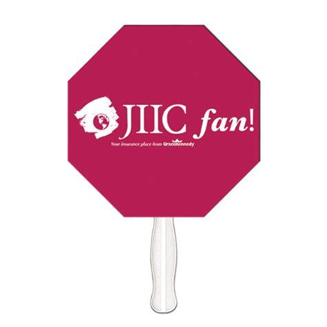 one stop fan promotional stop sign digital econo fan usimprints