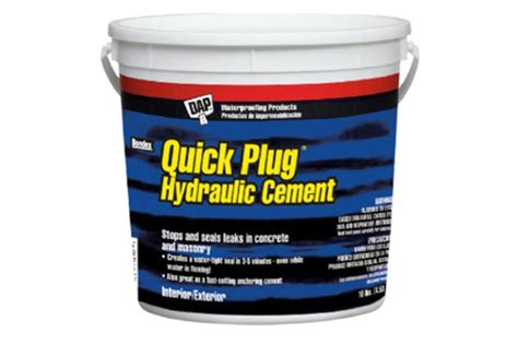 Repair Basement Leaks Diy True Value Projects Hydraulic Cement Basement