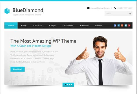 30 fresh wordpress business themes webdesigner depot
