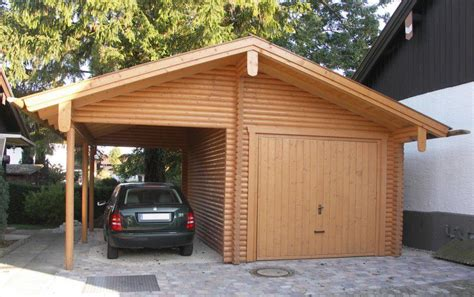 Wood Garages by Wooden Garages More Space To Your Home Wood Garage