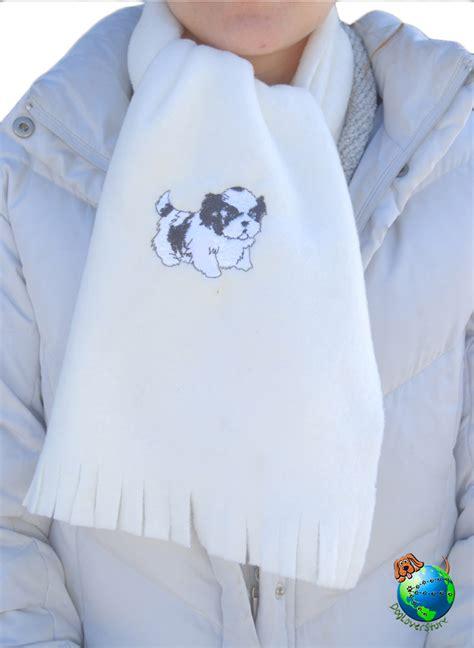 shih tzu store shih tzu scarf fleece puppy cut