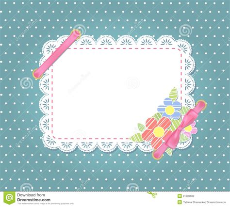 pattern card stock template frame design for card stock photo image 31303600