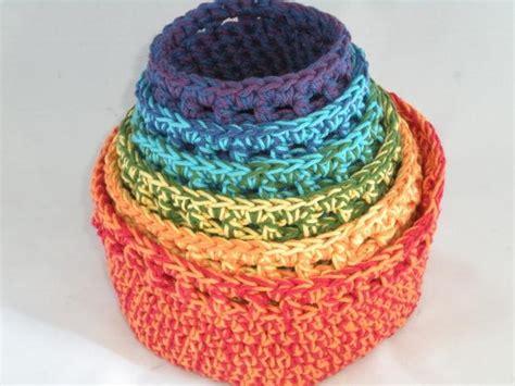 crochet pattern yarn bowl maracas crochet bowls set of 6 knitting patterns and