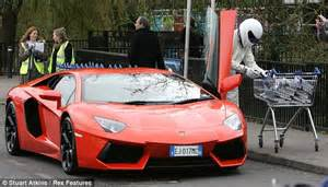 Lamborghini Book The Stig Fills Lamborghini With Copies Of His Book After