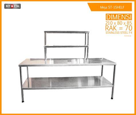 Meja Dapur Stainless Steel meja stainless steel untuk dapur resto