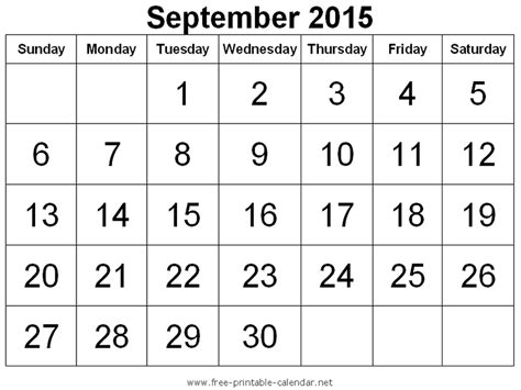 printable monthly calendar for september 2015 free printable calendar 2018 free printable calendar