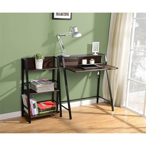 mainstays corner desk black walmart
