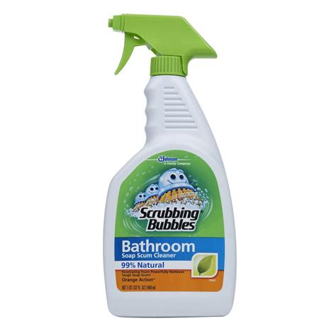 scrubbing bubbles bathtub cleaner scrubbing bubbles 32 oz shower and tub cleaner 044542