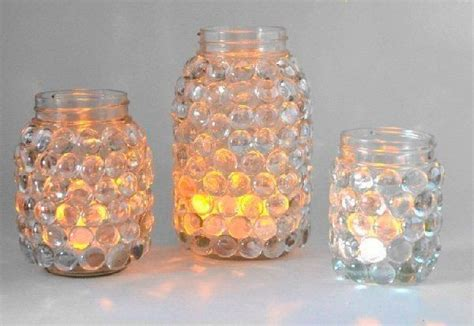 kerzenhalter basteln kerzenhalter aus dose und glasperlen basteln dekoking
