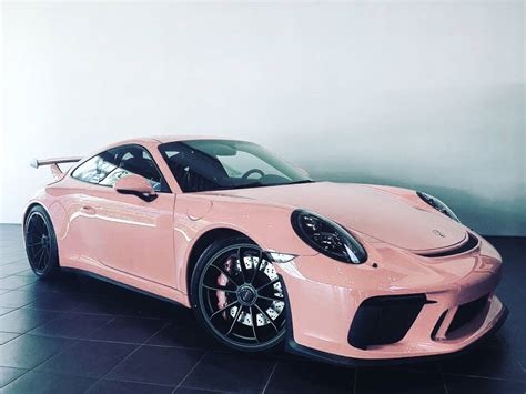 pink porsche 911 pink pig 2018 porsche 911 gt3 is a tribute to legendary