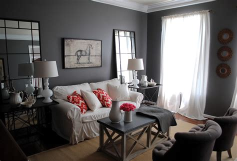 Living Rooms With Gray Walls by Living Room The Big Reveal Giveaway The