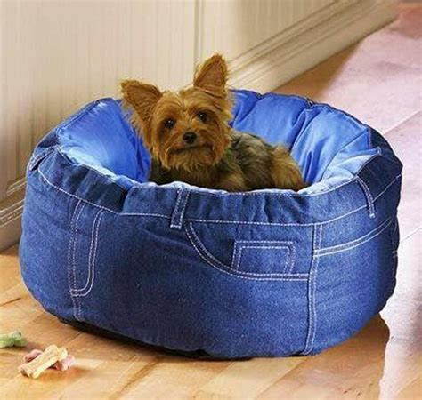 denim dog bed creative old jeans recycling ideas recycled things