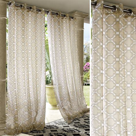 indoor outdoor curtains indoor outdoor curtains homesfeed