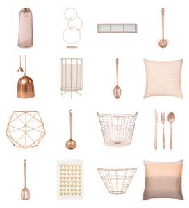 Rose Gold Home Decor by Home Decor Archives Thingsdeeloves