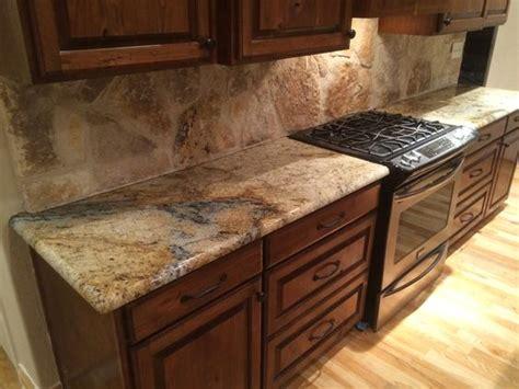 Rustic Granite Countertops by Beige Granite Kitchen Countertops Rock
