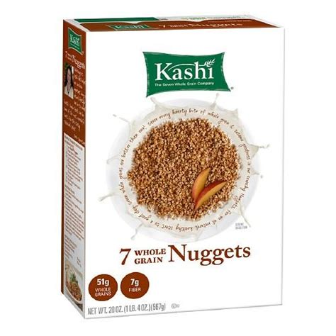 7 whole grain nuggets kashi kashi 7 whole grain cereal nuggets 20 oz pack of 2 food