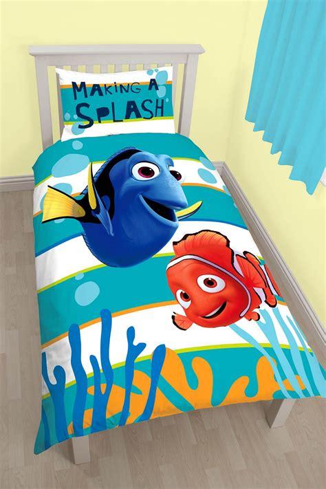 Bed Cover Single Nemo 120x200 new finding nemo dory single duvet quilt cover set boys bedroom bedding ebay