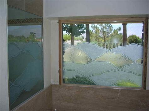 frosted glass for bathroom windows abstract hills bathroom windows frosted glass designs