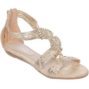 Flast Shoes Wedges Brukat On29 s flat sandals miso strappy flat wedges
