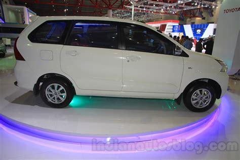 2015 toyota grand new avanza toyota grand new avanza side at the 2015 iims indian