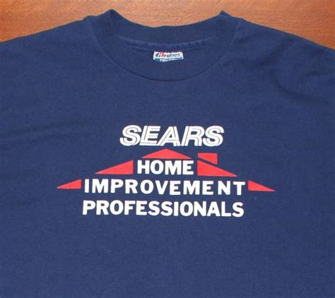 sears home improvement professionals vintage t shirt l