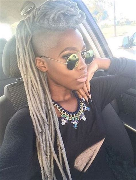 mahawk with soft dread hairstyles for blacks 40 mohawk hairstyles for black omen