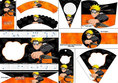 Printable Naruto Birthday Invitations | naruto free party printables oh my fiesta for geeks