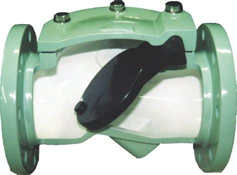 rubber flapper swing check valve crispin valves