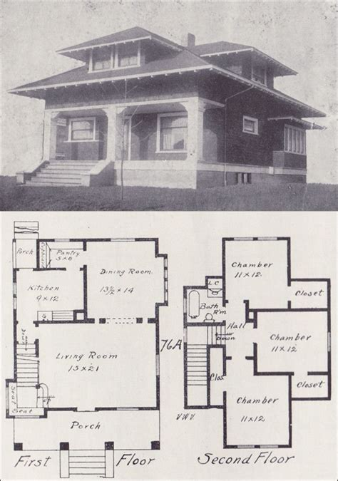 vintage house plans 1900s a collection of other ideas to