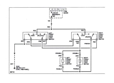 door lock wiring diagram 24 wiring diagram images