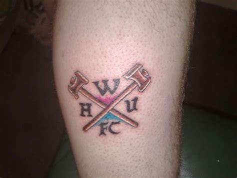 west ham tattoo designs ink west ham united footy fair
