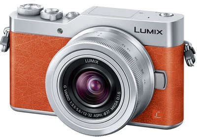 panasonic lumix dc gf9 (orange) with 12 32mm lens + 16gb
