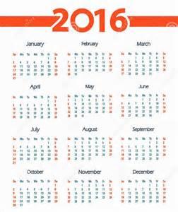 calendario por semanas 2016 calendar template calendar