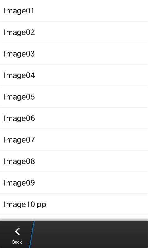 qml listview layout blackberry 10 listview isn t using custom