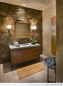 The walls of this area create an intriguing and rustic wall treatment