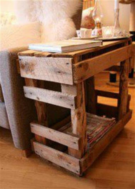 what to do with end tables shipping pallet end tables do it yourself