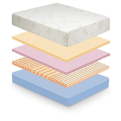 Where To Buy Memory Foam Mattress by Tranquil Sleep 10 Quot Memory Foam Mattress 582560 Mattresses Frames At Sportsman S Guide