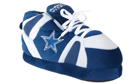 dallas cowboys sneaker slippers dallas cowboys unisex sneaker slippers x large