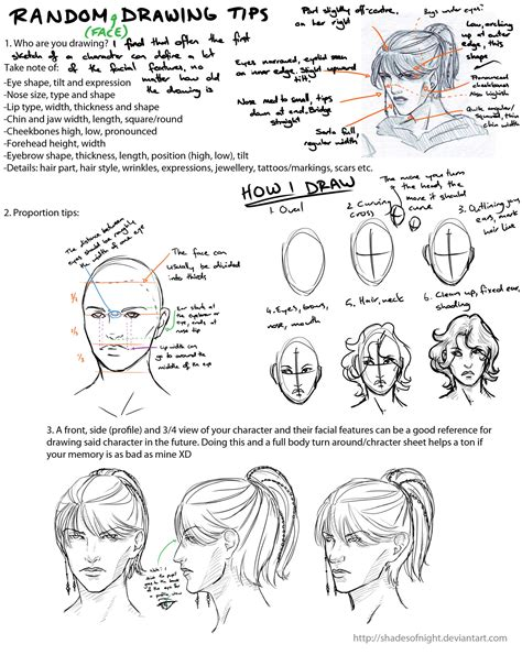 doodle tips random drawing tips by shadesofnight on deviantart