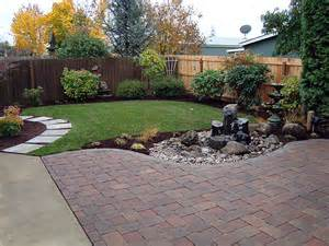 Backyard Landscaping by Tree Shrubs And Lawn Installation