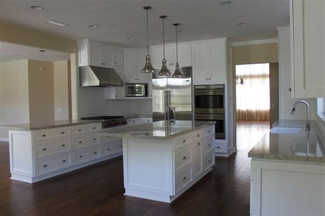 kitchen cabinets nuys custom kitchen remodeling in west white cabinets an island pendents lights hardwood